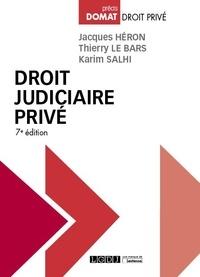 Thierry Le Bars et Jacques Héron - Droit judiciaire privé.