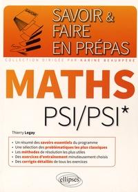 Thierry Legay - Mathématiques PSI/PSI*.