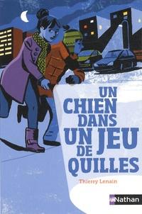 Thierry Lenain - Un chien dans un jeu de quilles.