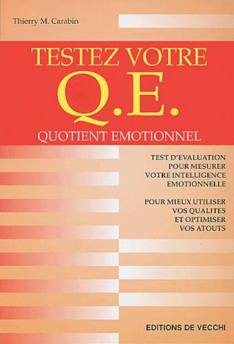Thierry M. Carabin - Testez votre QE (quotient émotionnel).