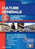 Thierry Marquetty et Dominique Glaymann - Culture générale méthode et thèmes catégories A et B.