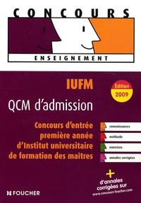 Deedr.fr IUFM QCM d'admission - Concours d'entrée en 1e année d'Institut universitaire de formation des maîtres Image