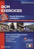 Thierry Marquetty et Olivier Berthou - QCM exercices - Toutes fonctions publiques Français, culture générale, mathématiques, logique.