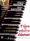 Thierry Masson et Henri Nafilyan - Le piano pour adulte débutant. 2 CD audio