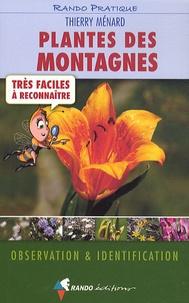 Thierry Ménard - Plantes des montagnes - Trés faciles à reconnaître.