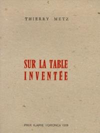 Ucareoutplacement.be Sur la table inventée Image
