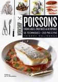 Thierry Molinengo - Poissons - Coquillages, crustacés & octopodes. 50 techniques, 350 pas à pas.