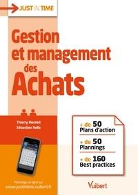 Thierry Monteil et Sébastien Vella - Gestion et management des achats.