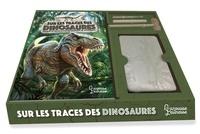 Thierry Olivaux et Annapaola Del Nevo - Coffret Sur les traces des dinosaures - Déterre et reconstitue un squelette de diplodocus.