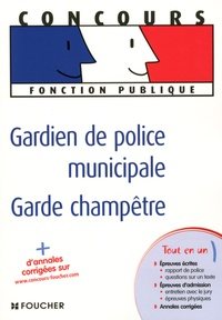 Thierry Palermo et Thierry Marquetty - Gardien de police municipale, Garde champêtre.