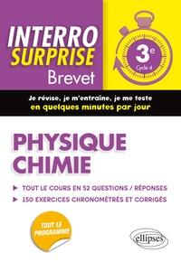 Physique chimie 3e Cycle 4 Brevet- Tout le cours en 52 questions/réponses et 150 exercices chronométrés et corrigés - Thierry Paquerot |