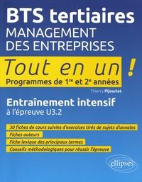 Checkpointfrance.fr Management des entreprises BTS tertiaires 1re et 2e années Tout en un! - Entraînement intensif à l'épreuve U3.2 Image