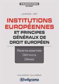 Alixetmika.fr Institutions européennes et principes généraux de droit européen Image
