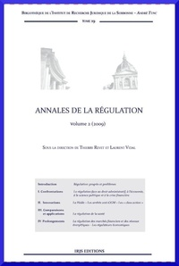 Thierry Revet - Annales de la régulation - Volume 2.