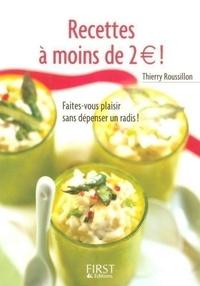 Thierry Roussillon - Recettes à moins de 2 euros !.