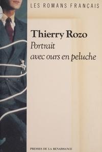 Thierry Rozo - Portrait avec ours en peluche.