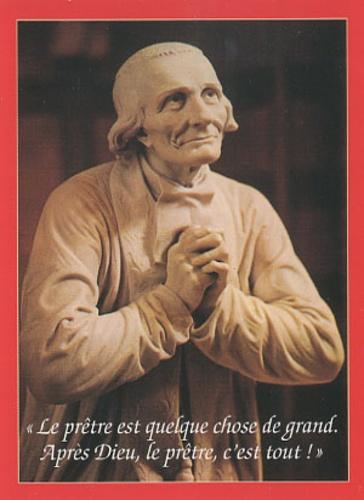 Thierry Scherrer - Prière pour l'année sacerdotale - Lot de 10 exemplaires.
