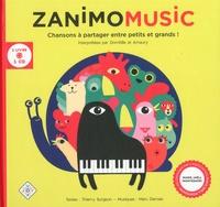 Thierry Surgeon - Zanimomusic - Chansons à partager entre petits et grands !. 1 CD audio