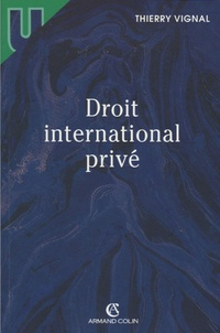 Thierry Vignal - Droit international privé.