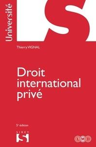 Thierry Vignal - Droit international privé.