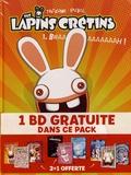 Thitaume et Romain Pujol - The Lapins Crétins Tomes 1 à 3 : .