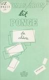"""Thomas Aron - L'Objet du texte et le texte-objet - """"La Chèvre"""" de Francis Ponge."""