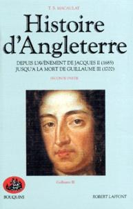 Histoire dAngleterre - Tome 2, Depuis lavènement de Jacques II (1685) jusquà la mort de Guillaume III (1702).pdf