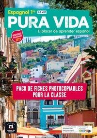 Thomas Bailleul et Milagros Carolina Hamon-Diaz - Espagnol 1re A2>B1 Pura vida - Pack de fiches photocopiables pour la classe.
