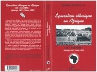 Thomas Banjikila Bakajika - Épuration éthnique en Afrique - Les Kasaïens, Katanga 1961-Shaba 1992.