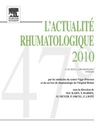 Thomas Bardin et Marcel-Francis Kahn - L'actualité rhumatologique 2010.