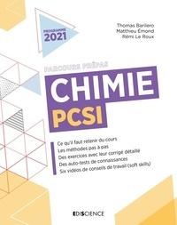 Thomas Barilero et Matthieu Emond - Chimie PCSI.