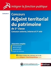 Thomas Barris et Laurie Descamps - CONCOURS ADMIN  : Adjoint territorial du patrimoine de 1ère classe - Catégorie C - Intégrer la fonction publique - 2012 - Format : ePub 3 FL.