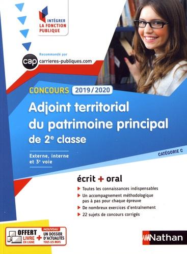 Adjoint territorial du patrimoine principal de 2e classe. Concours externe, interne et 3e voie catégorie C  Edition 2019-2020