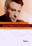 Thomas Bauer - Georges Magnane : la plume et le sport.