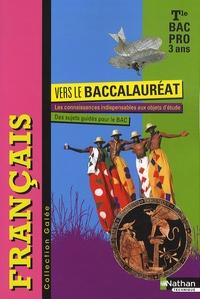 Francais Galée Tle Bac pro - Vers le baccalauréat.pdf