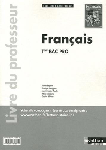 Francais Term Bac Pro Entre Lignes Livre Du Professeur