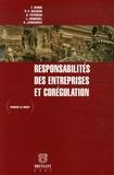 Thomas Berns et Pierre-François Docquir - Responsabilités des entreprises et corégulation.