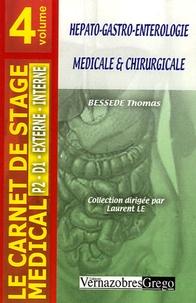 Thomas Bessede - Hépato-gastro-entérologie médicale et chirurgicale.