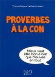 Thomas Bisignani et Benoît Isaert - Proverbes à la con.