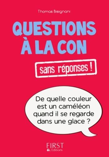 Questions à la con sans réponses ! - Thomas Bisignani - Format ePub - 9782754080668 - 1,99 €