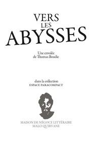 Thomas Boudie - Vers les abysses.