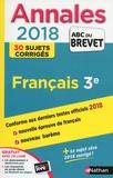Thomas Bouhours et Céline Mimouni - Français 3e - Sujets & corrigés.