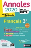 Thomas Bouhours - Français 3e - Sujets & corrigés.