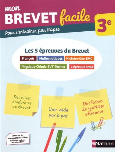 Les 5 épreuves du Brevet 3e. Français, Mathématiques, Histoire-Géo-EMC, Physique-Chimie-SVT-Techno, L'épreuve orale