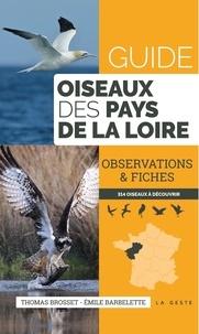 Thomas Brosset et Emile Barbelette - Guide des oiseaux des Pays de la Loire - Observations & fiches.