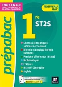 Thomas Brunet et Valérie Goll - Prépabac 1re ST2S - Toutes les matières - Cours et contrôle continu.