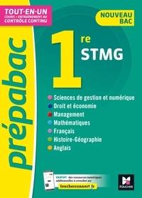 Thomas Brunet et Frédéric Ginoux - Prépabac 1re STMG - Toutes les matières - Cours et contrôle continu.