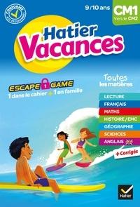 Thomas Cambarot et Yannick Robert - Cahier de vacances 2021 du CM1 vers le CM2 9/10 ans.