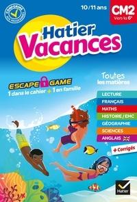 Thomas Cambarot et Pascal Gauffre - Cahier de vacances 2021 du CM2 vers la 6e 10/ 11 ans.