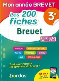 Thomas Cargallo et Martine Lassus - Les 200 fiches Brevet 3e.